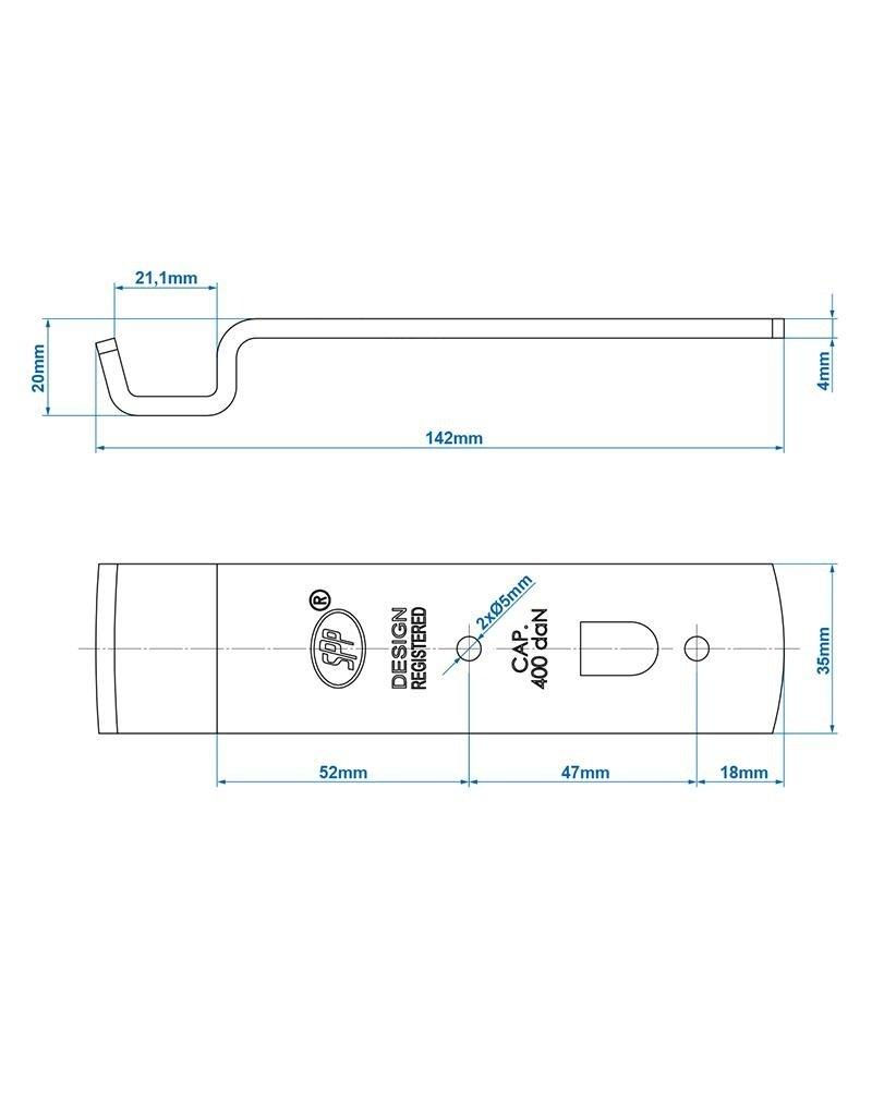 Proplus Tegenstuk voor spansluiting SPP Z-01A