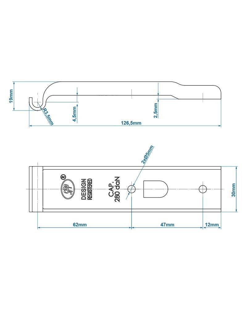Tegenstuk voor spansluiting SPP Z-02