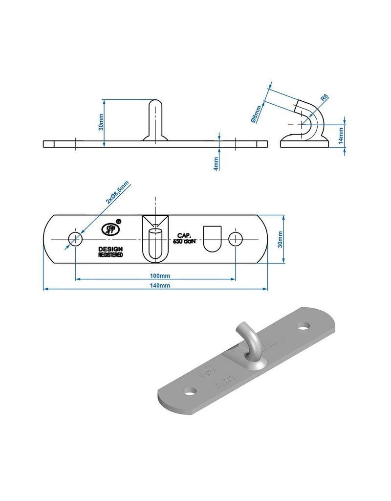 Proplus Tegenstuk voor spansluiting SPP Z-03