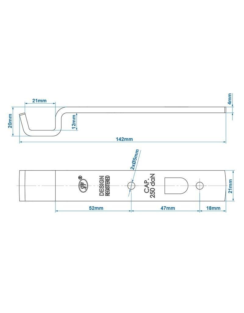Proplus Tegenstuk voor spansluiting SPP Z-05
