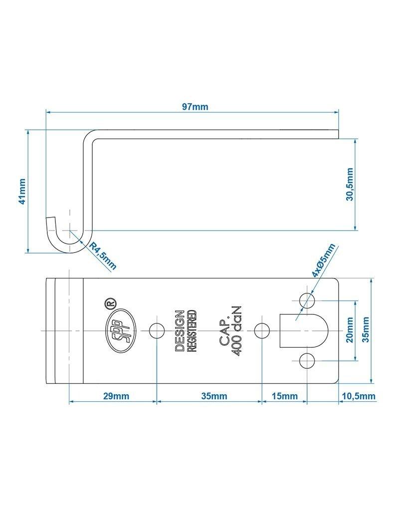 Proplus Tegenstuk voor spansluiting SPP Z-07