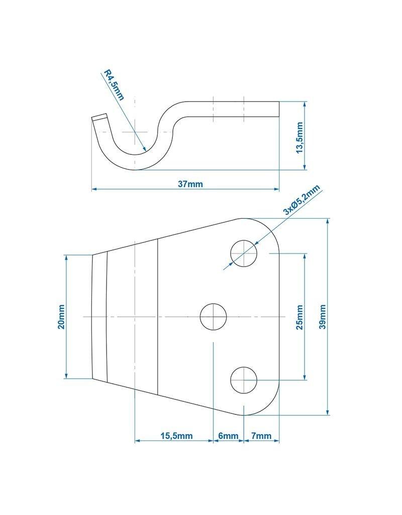 Proplus Tegenstuk voor spansluiting SPP Z-11