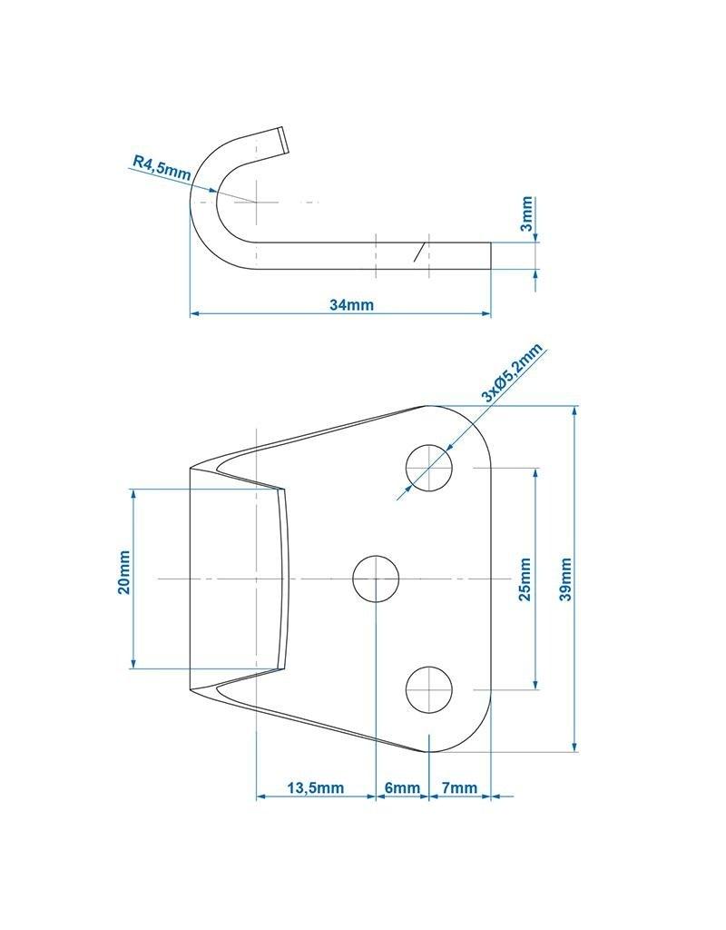 Proplus Tegenstuk voor spansluiting SPP Z-11A