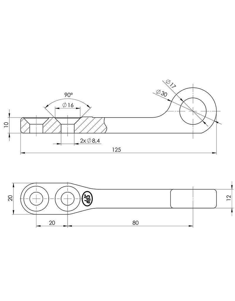 Proplus Tegenstuk voor spansluiting SPP Z-12