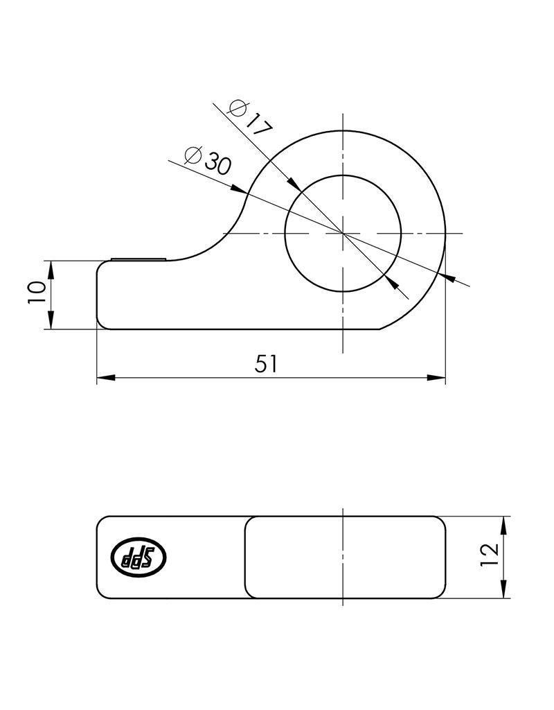 Tegenstuk voor spansluiting SPP Z-12A