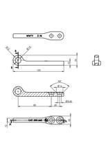 Proplus Tegenstuk voor spansluiting SPP Z-16
