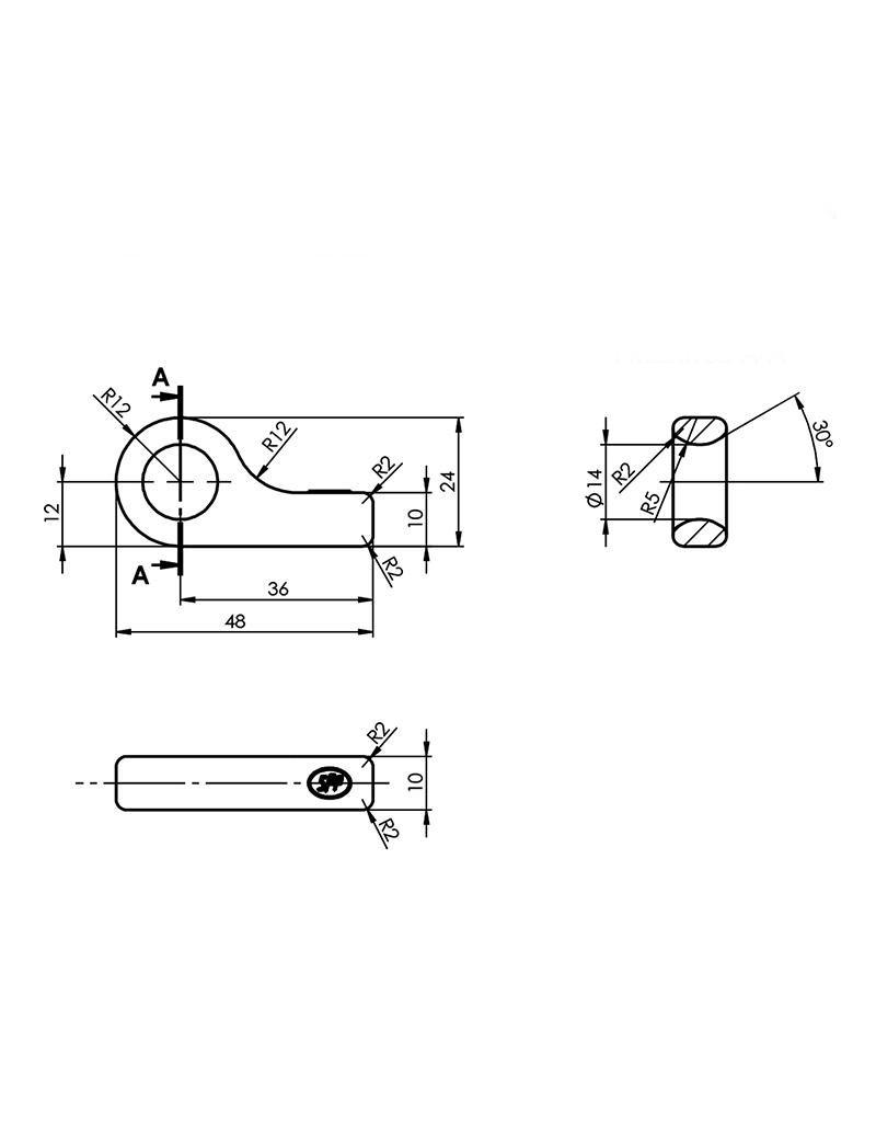 Tegenstuk voor spansluiting SPP Z-16A