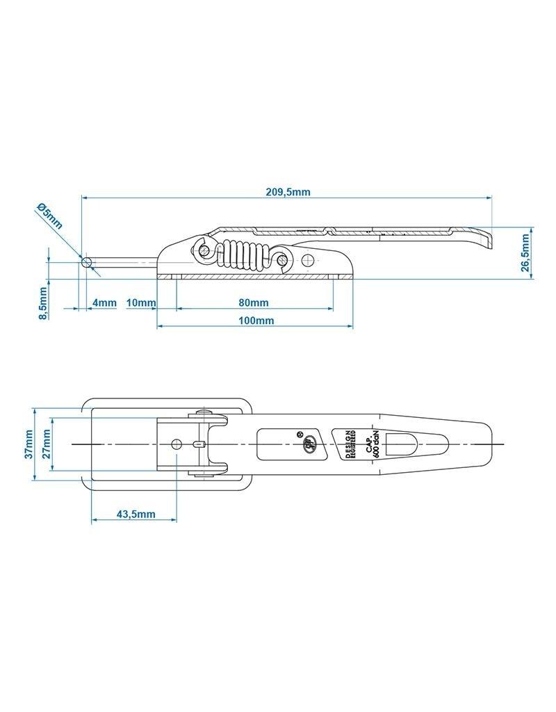 Proplus Spansluiting SPP ZB-01C