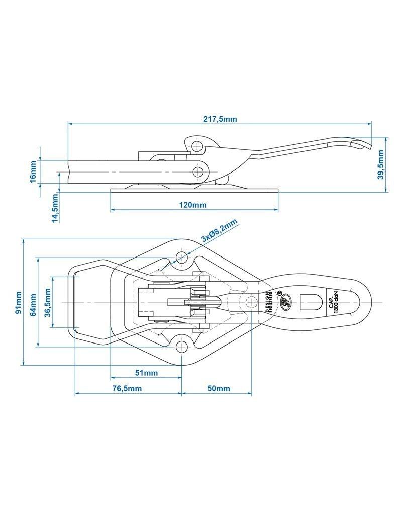 Spansluiting SPP ZB-05