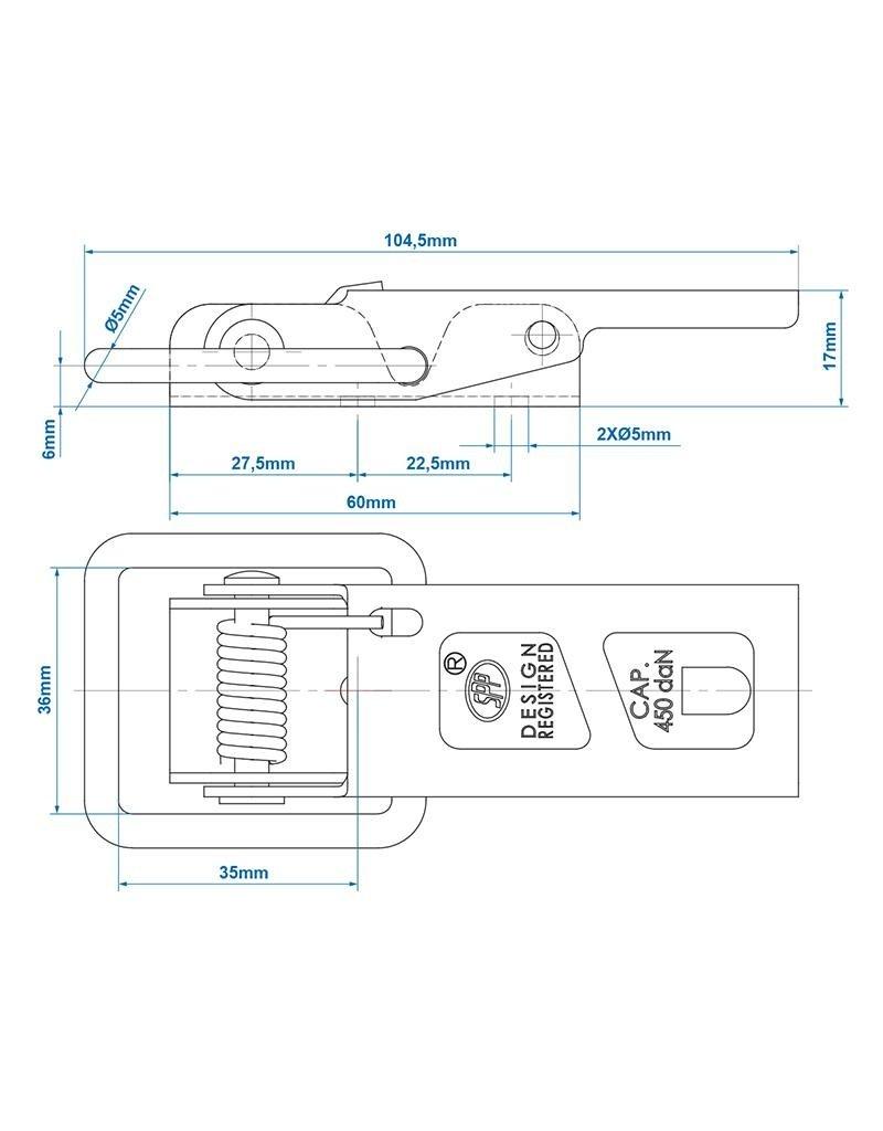 Proplus Tegenstuk voor spansluiting SPP ZN-06
