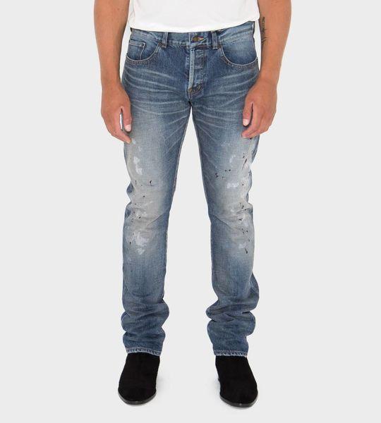 Classic Slim Paint Jeans