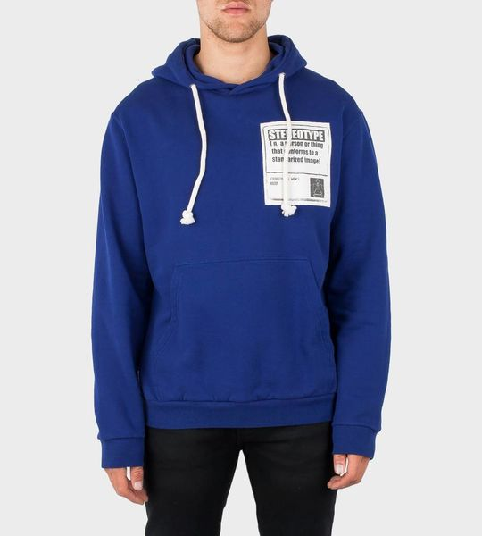 Stereotype Patch Hoodie