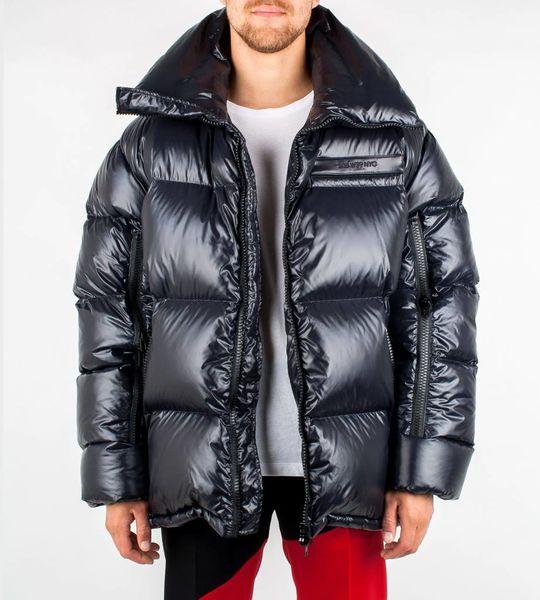 Oversized Puffer Jacket Black