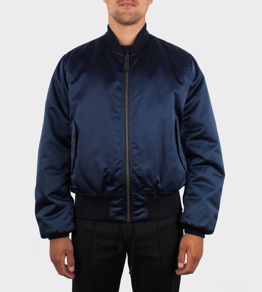 Balenciaga 2017 Bomber Jacket Blue