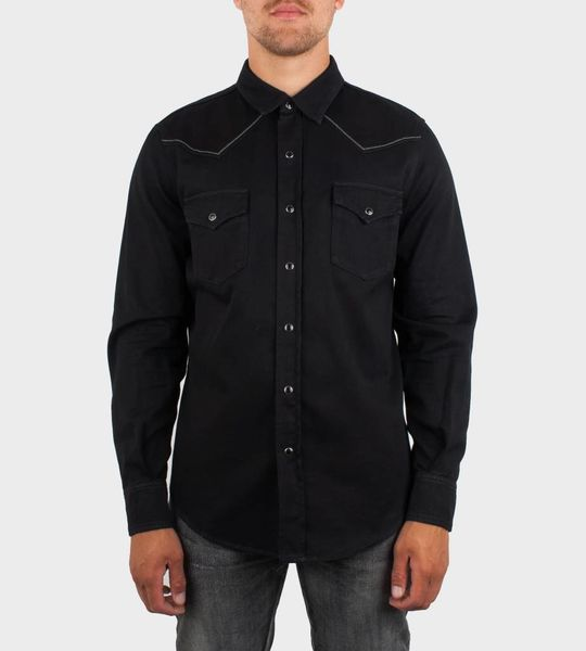 Embroidered Western-Style shirt