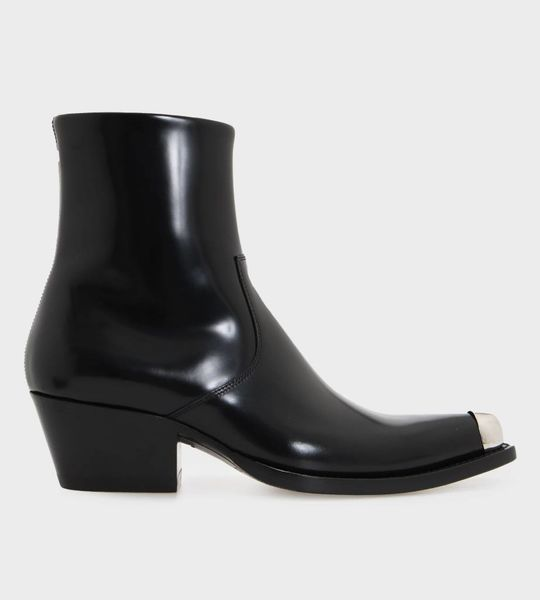 Calfs Leather Western Boot