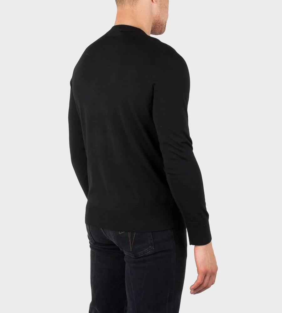 f05208c7c8519a GIVENCHY knitwear BM90434030 001 Black - FOUR Amsterdam
