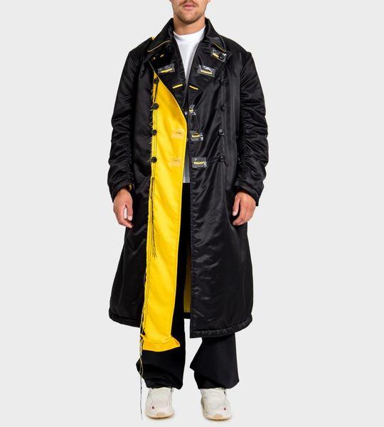 Nylon Bomber Coat