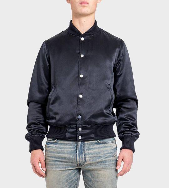 Forever Silk Baseball Jacket