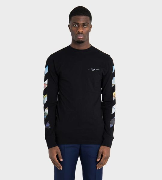 Diag Arrows Longsleeve T-Shirt