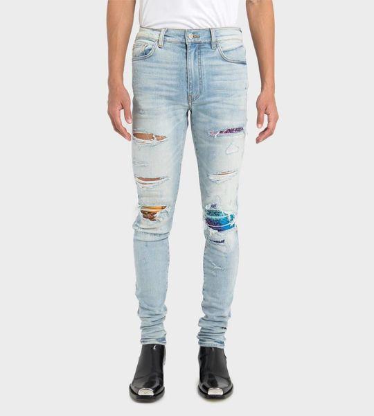 MX1 Rainbow Bandana Jeans