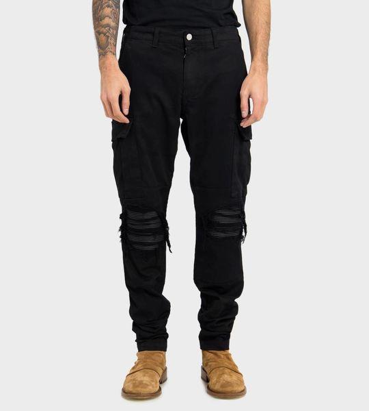 Black MX1 Cargo Jeans
