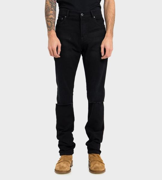 Stitch Detailed Skinny Jeans