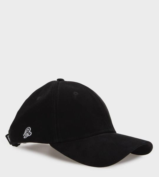 056c36edf3 By B Suede Cap Black - FOUR Amsterdam