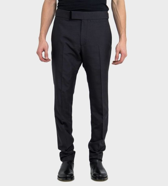 Linen Silk Shelton Trousers