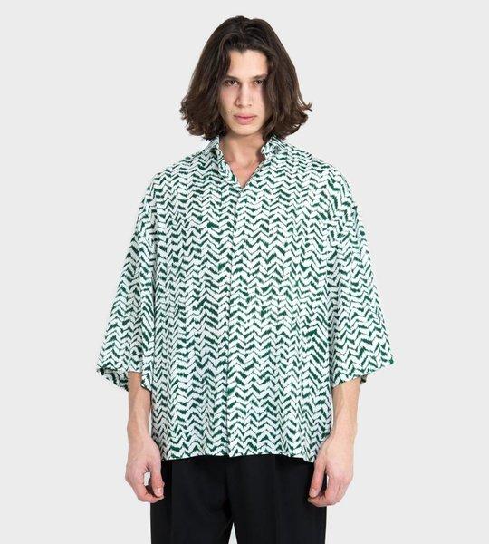 Zigzag Print Shirt