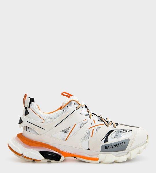 Orange Detail Track Sneakers
