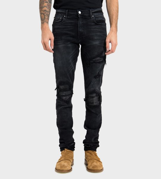 AMIRI Jeans MBMX LTH-ABL Black
