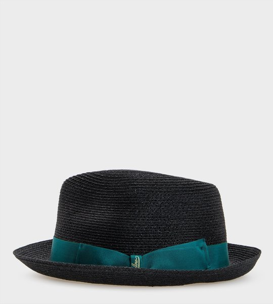 Small Brim Woven Hemp Hat