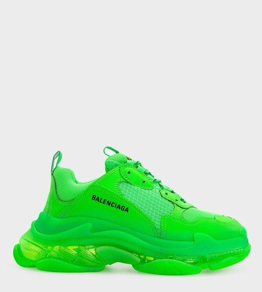 Neon Triple S Sneakers