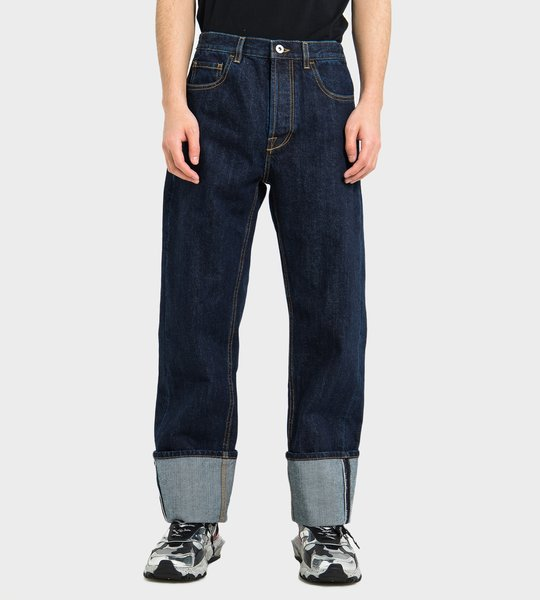 Baggy Jeans with Selvedge