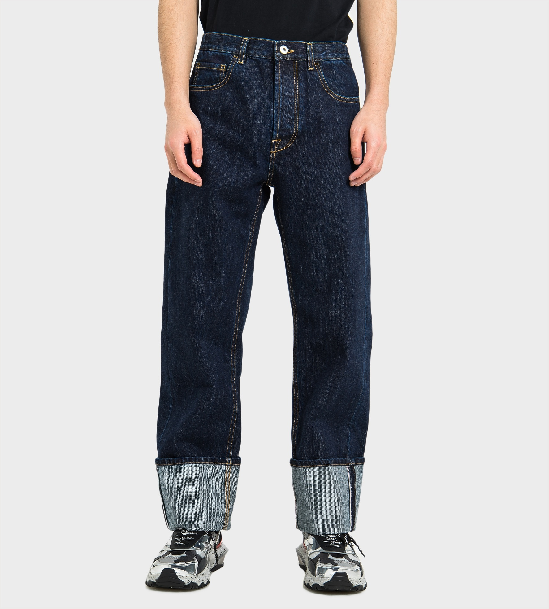 VALENTINO Baggy Jeans with Selvedge