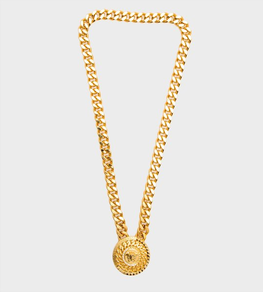 Medusa Crystal Pendant Necklace