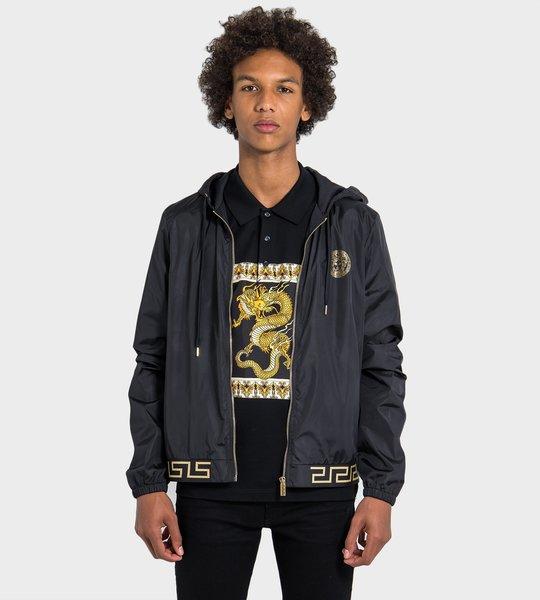 Greek Key Gym Jacket