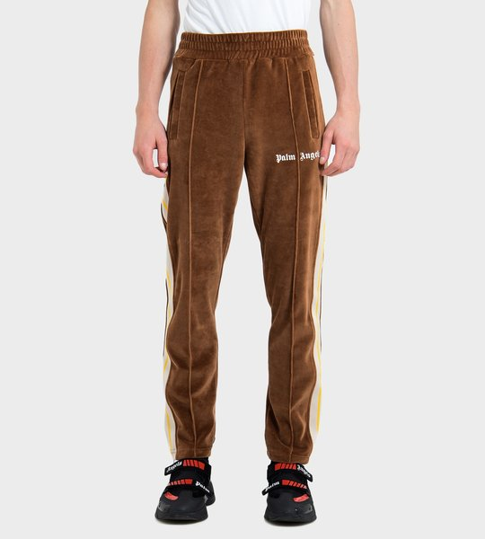Chenille Track Pants Brown