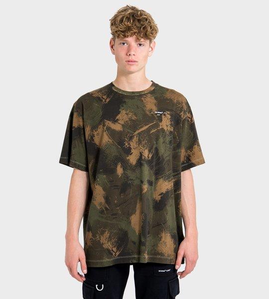 Paintbrush Camo T-Shirt