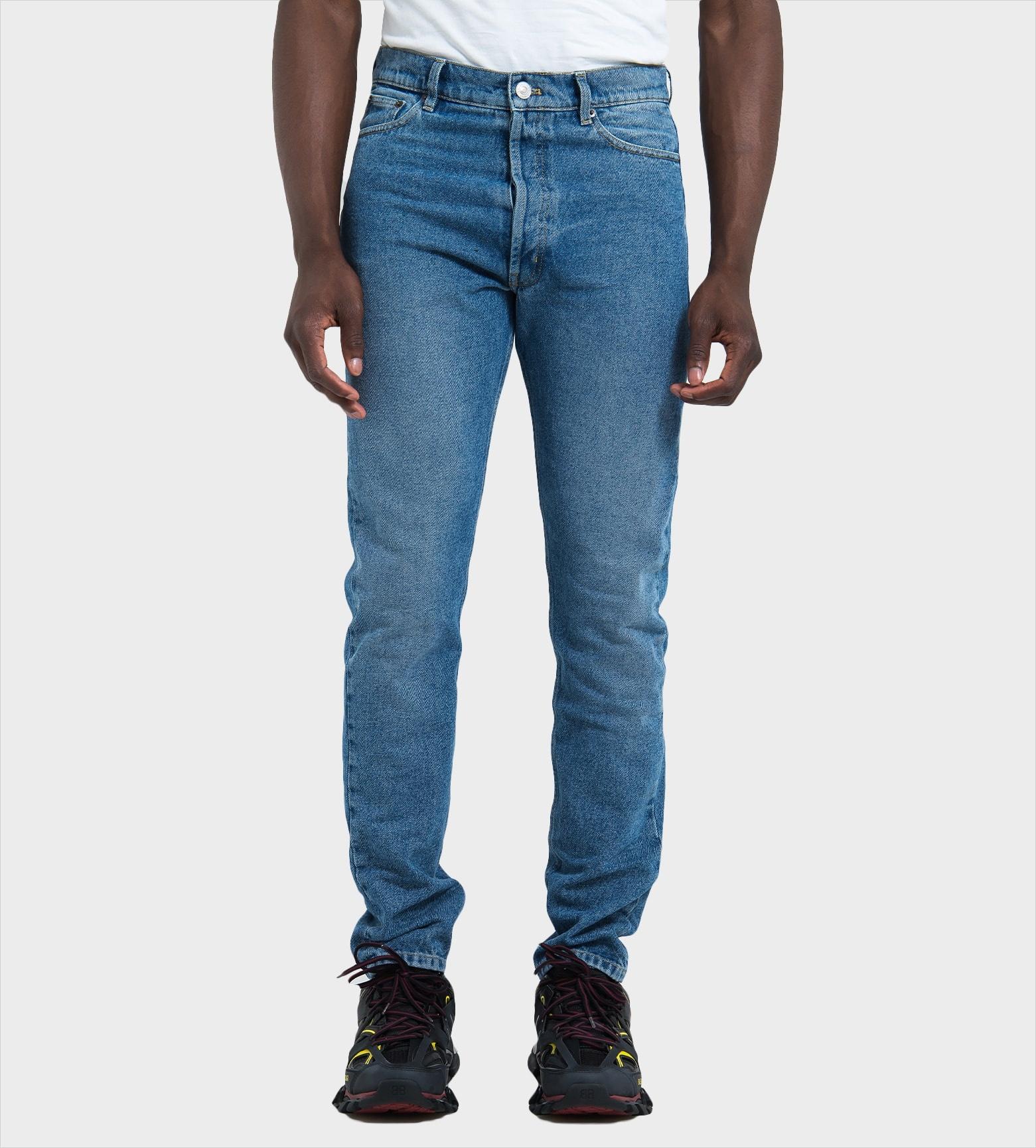 wholesale dealer 8e15e e2c15 BALENCIAGA Jeans TDW15 4089 Blue