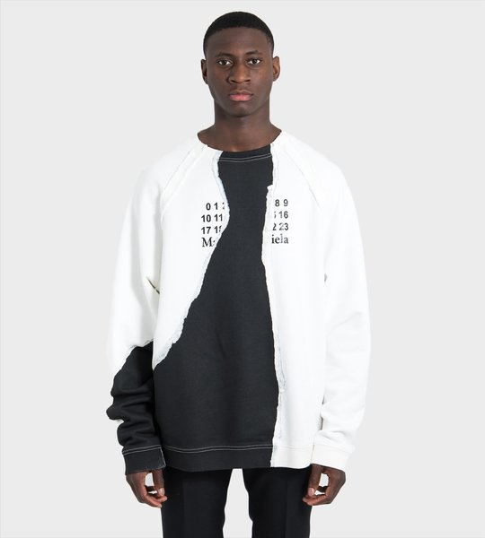 Mutiny Print Crew Sweater
