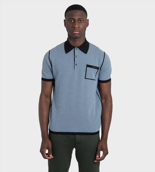Pattern Polo Shirt