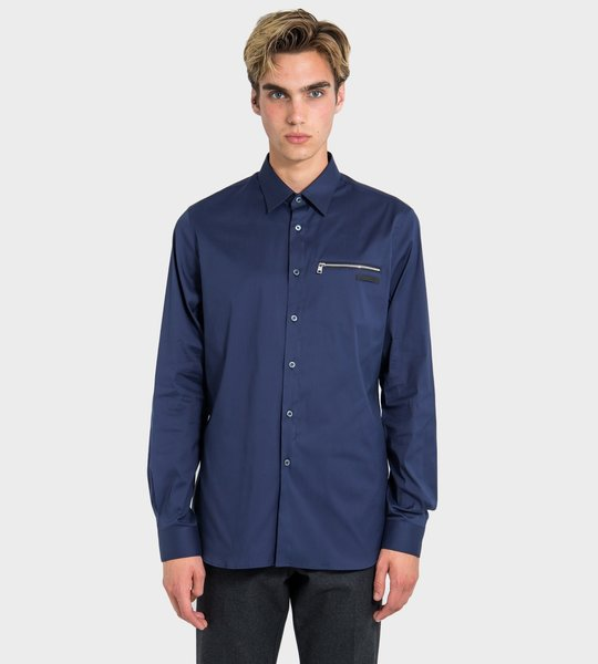 Zipped Pocket Shirt