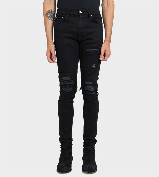 Leather Patch MX1 Jeans