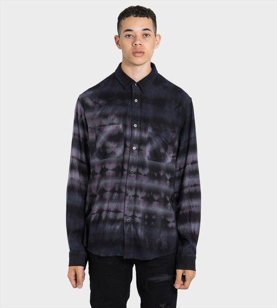 Black Tie-Dye Shirt