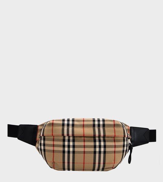 Medium Vintage Check Bum Bag