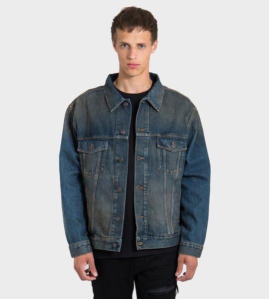 Dark Rust Denim Jacket