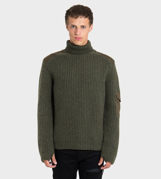 Military Turtleneck