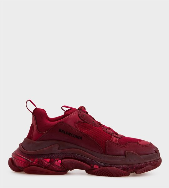 Red Triple S Sneaker